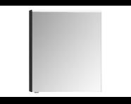 57068 - Mirror Cabinet, Premium, 60 cm, Hacienda Black Right