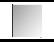 57069 - Mirror Cabinet, Premium, 60 cm, Hacienda Black Left