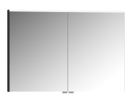 57079 - Mirror Cabinet, Premium, 100 cm, Hasiente Sıyah