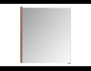 57086 - Mirror Cabinet, Premium, 60 cm, Golden Cherry Left