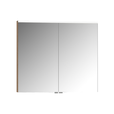 Mirror Cabinet, Premium, 80 cm, Golden Cherry