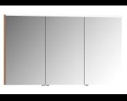 57090 - Mirror Cabinet, Premium, 120 cm, Golden Cherry