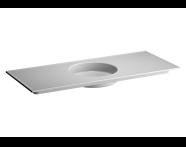 5710B003-0016 - Memoria Etajerli Lavabo, 120 cm