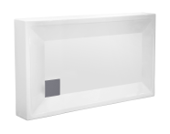 57120002000 - T75 120x75 cm Dikdörtgen Monoblok Duş Teknesi