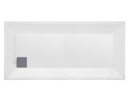57170005000 - T75 150x75 cm Dikdörtgen Flat(Ayaklı ve Panelli) , Ayak, Sifon