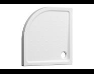 5719L003-0578 - Arkitekt Köşe Duş Teknesi, 90x7.5 cm