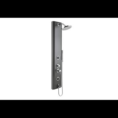 Move Masajlı Duş Sistemi 140x25 cm, Antrasit