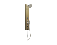 57250005000 - Move Shower System with Hydromassage 140x25 cm, Bronze
