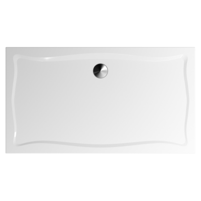 Elegance 160x90 cm Dikdörtgen Flat(Gömme) Duş Teknesi