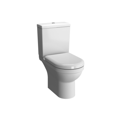 S50 Close-Coupled WC Pan, Open-Back, Rim-Ex