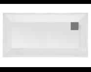 57660001000 - T80 180x80 cm Rectangular Zero Surface