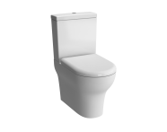 5780L003-7200 - Zentrum Close-Coupled WC Pan, Fully Back-to-Wall