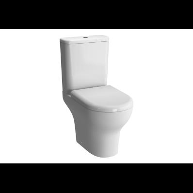Zentrum Close-Coupled WC Pan, Open Back