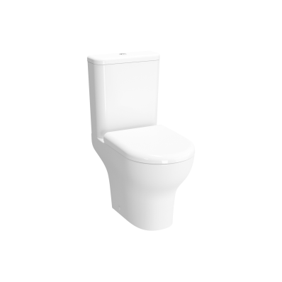 Zentrum Rim-ex close-coupled WC pan, Open-back