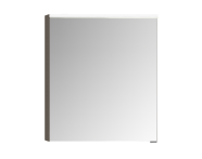 58065 - Mirror Cabinet, Premium with Led Lighting, 60 cm, Grey Oak, Right