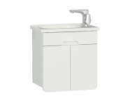 58127 - D-light Washbasin Unit, 50 cm,  Matte White & Matte White
