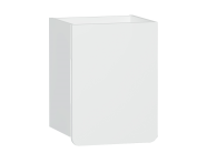 58153 - D-light Side Unit, 40 cm, Matte White & Matte White, Right