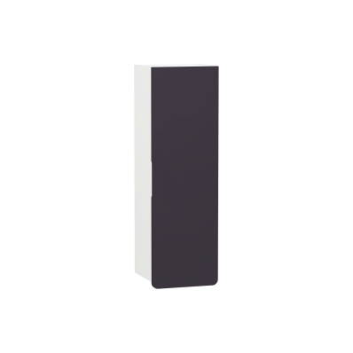 D-light Tall Unit, 36 cm, Matte White & Purple, Right