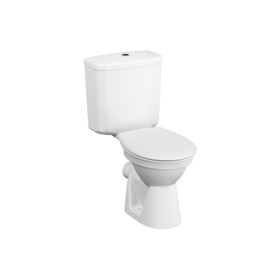 Special Need's Conforma, Close-coupled WC Pan, open back, 75 cm, universal outlet, white