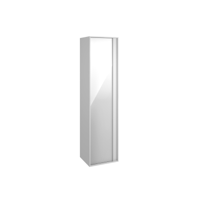 M-Line Infinit Tall Unit, 40 cm, High Gloss White, Left