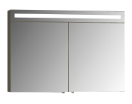58225 - Elite Mirror Cabinet, 100 cm, Matte White