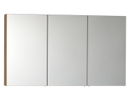 58284 - Mirror Cabinet, Classic, 120 cm, Oak