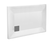 58330001000 - T75 120x75 Rectangular Monoflat Shower Tray