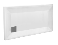58350001000 - T75 140x75 Rectangular Monoflat Shower Tray