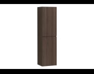 58384 - Memoria Tall Unit with Mechanism, Matte Walnut