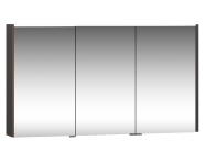 58504 - M-Line Infinit  Mirror Cabinet, 120 cm, Plum Tree