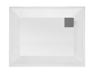 58510001000 - T90 100x90 Rectangular Zero Surface Shower Tray