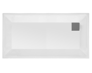 58590001000 - T90 180x90 Rectangular Zero Surface Shower Tray