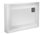 58610001000 - T90 100x90 Rectangular Monobloc Shower Tray