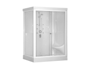 58843001000 - Lara Compact System 120x90 cm, Flat Wall, System 3