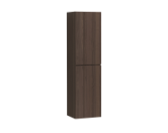 58997 - Memoria Tall Unit with Door, Metallic Mocha, Right