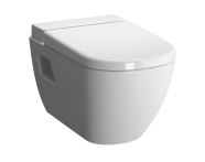 5910B003-1086 - D-Light Wall-Hung WC Pan Lid (without Bidet Pipe), Vitra Fresh