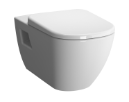 5911B003-0075 - D-Light Rim-Ex Wall-Hung WC Pan Lid (without Bidet Pipe)