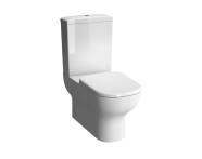 "5913B003-0096 - ""D-Light  Rim-Ex  Back-To-Wall Close-Coupled WC Pan (without Bidet Pipe; Floor Mounted with Hole)"""
