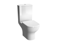 5914B003-0075 - D-Light Open Back  Close-Coupled WC Pan (without Bidet Pipe)