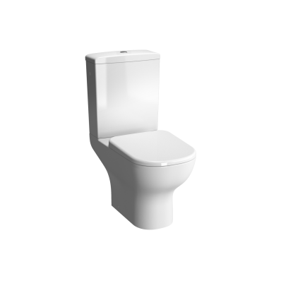 D-Light Open Back  Close-Coupled WC Pan (without Bidet Pipe)