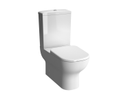 5915B003-0075 - D-Light Rim-Ex Open Back  Close-Coupled WC Pan (without Bidet Pipe)
