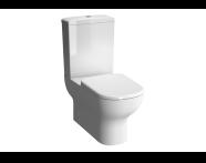 5915B003-0088 - D-Light Rim-Ex Arkası Açık Takım Klozet Taharet Borulu