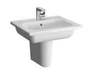 5918B003-6106 - D-Light Vanity Basin, 60cm, with Towel Holder