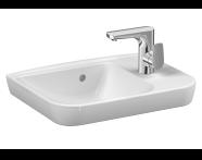 5945B003-0921 - Sento Lavabo, 50x35 cm, Tezgahüstü Kullanım İçin