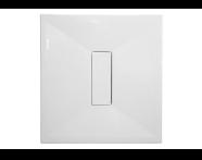 59690010000 - Slim 100x100 Kare Monoflat, Sifon, Krom Gider Kapağı