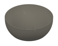 5992B450-0016 - Outline Round Bowl Washbasin, Matte Mink