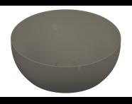 5992B450-0016 - Outline Yuvarlak Lavabo, Mat Gri