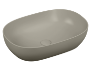 5995B420-0016 - Outline Oval Lavabo, Mat Bej