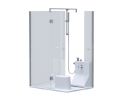 60040001000 - Cosey 130x100 Shower Unit