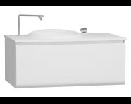 60077 - Istanbul Washbasin Unit 100 cm White